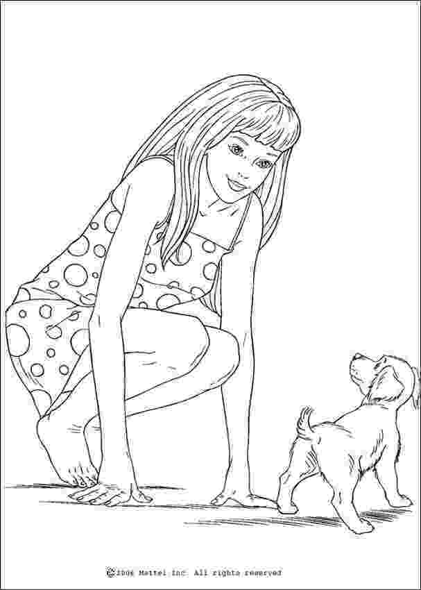 coloring pages of barbie barbie and friends coloring pages getcoloringpagescom coloring barbie of pages