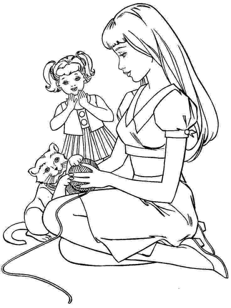 coloring pages of barbie barbie coloring page barbie house remodel pinterest barbie coloring pages of