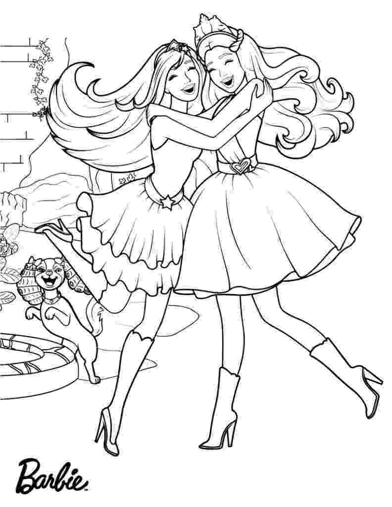 coloring pages of barbie barbie coloring pages 360coloringpages coloring pages barbie of