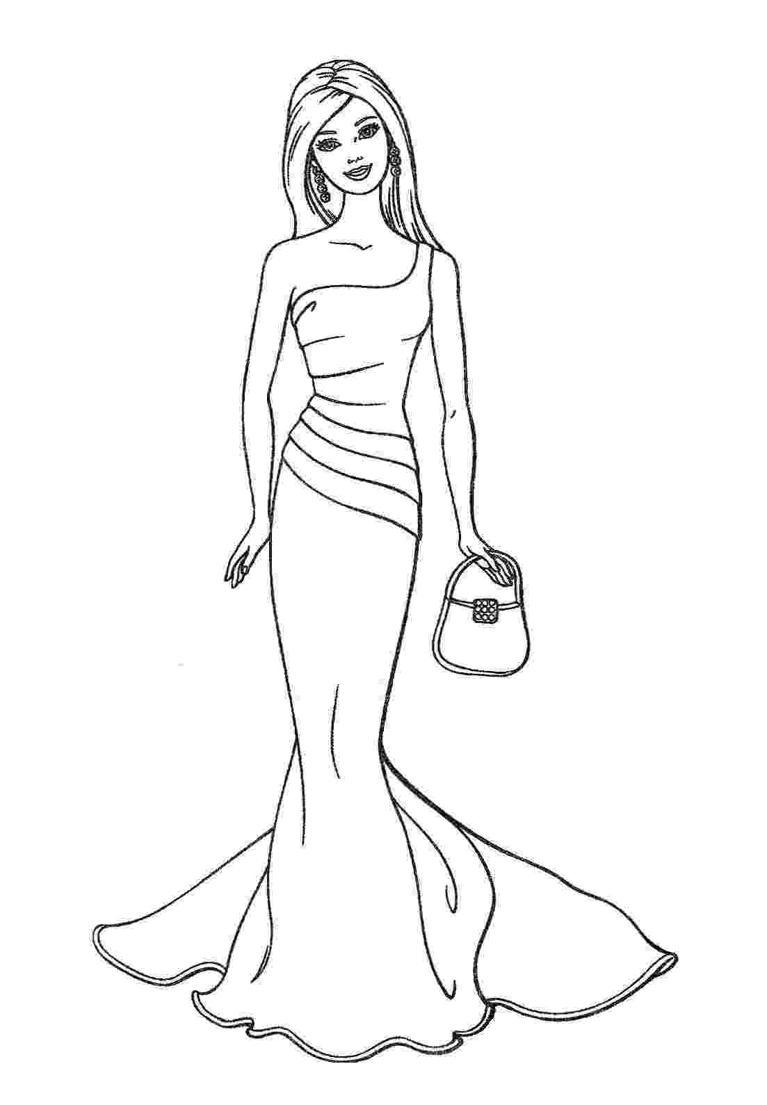 coloring pages of barbie barbie coloring pages coloring pages barbie of