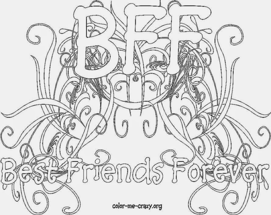 coloring pages of bffs bff coloring pages inking by tracywong free printable pages of bffs coloring