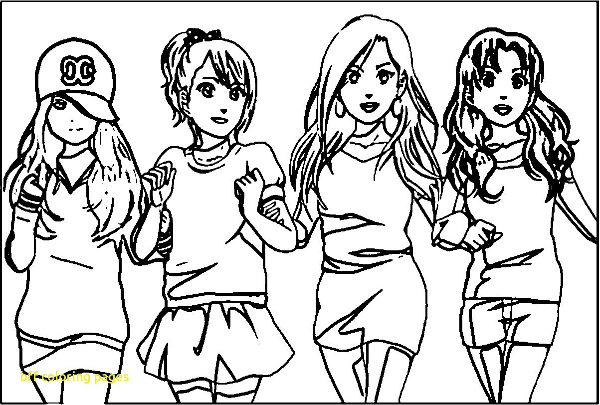 coloring pages of bffs bff coloring pages to download and print for free pages of coloring bffs