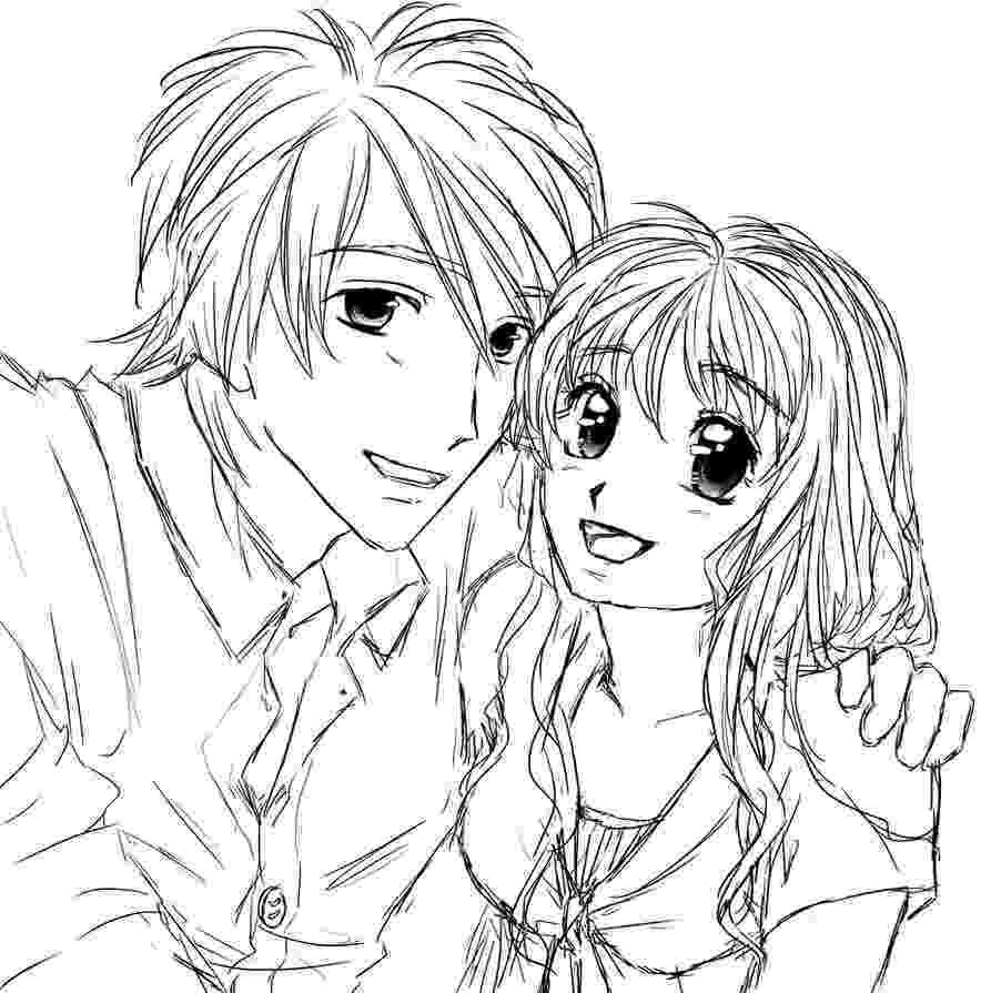 coloring pages of couples couple by miyakies on deviantart pages couples coloring of