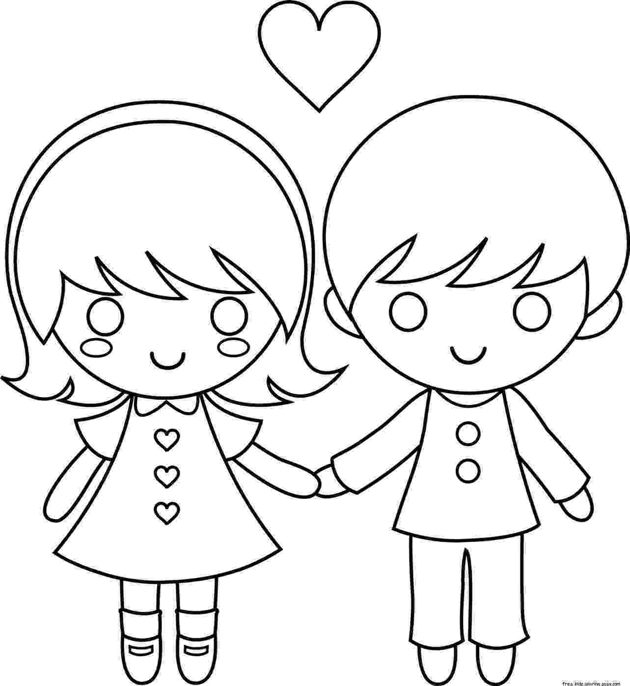 coloring pages of couples couple coloring pages to download and print for free pages couples coloring of
