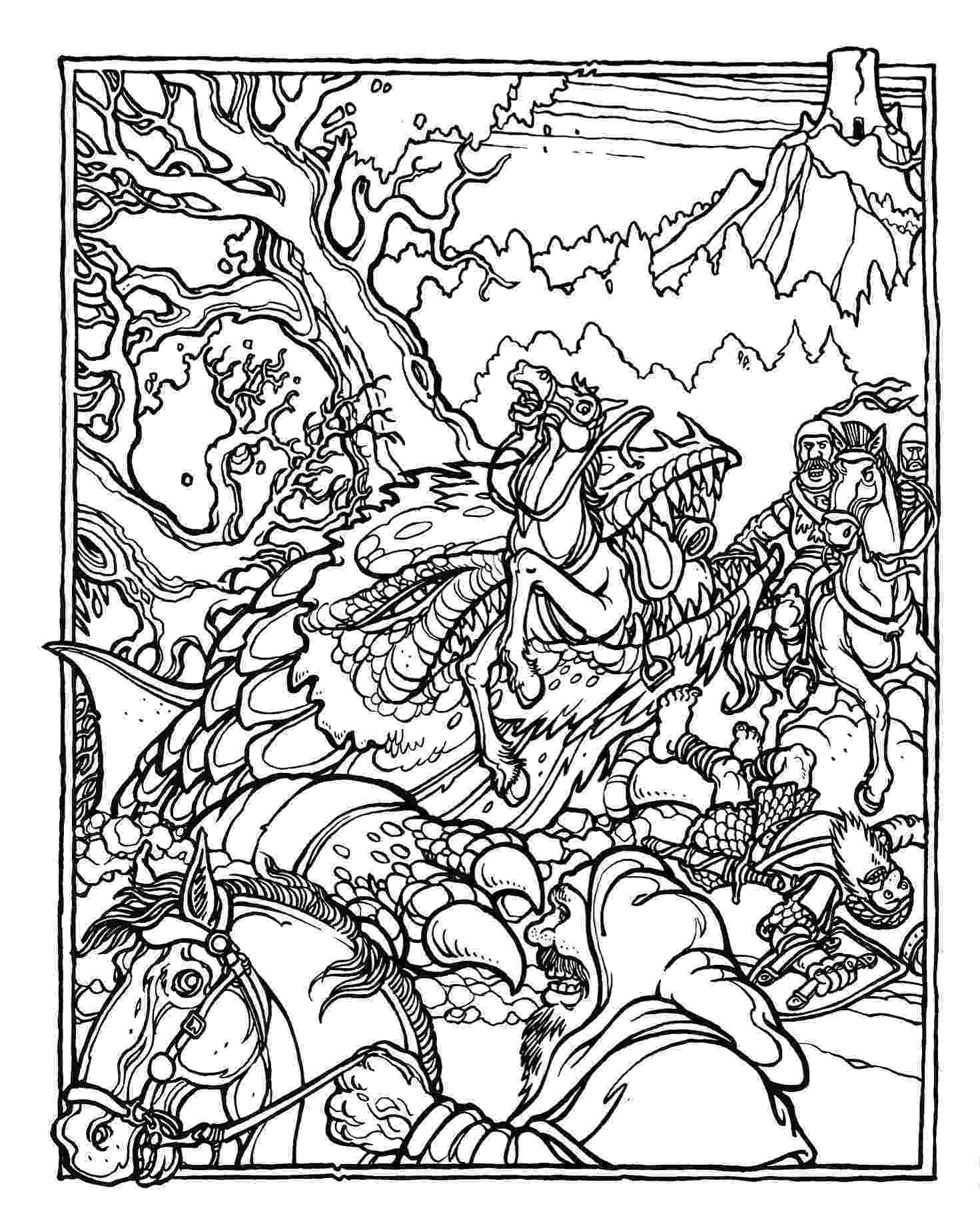 coloring pages of dragons dragon coloring book xanadu weyr of coloring dragons pages