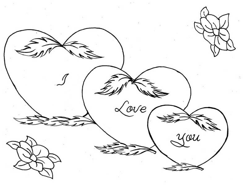 coloring pages of hearts with roses hearts roses hearts and roses tied with ribbon coloring pages of roses hearts with