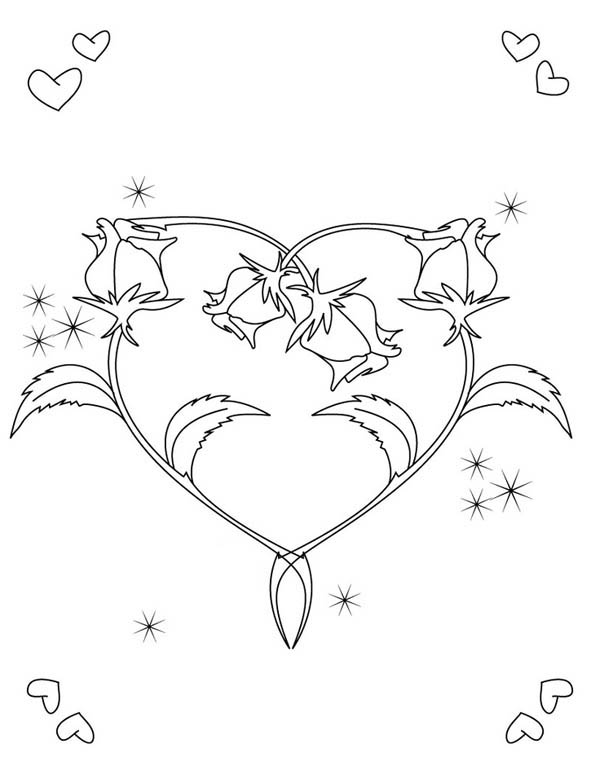 coloring pages of hearts with roses rodney39s blog june 2011 pages hearts with coloring roses of