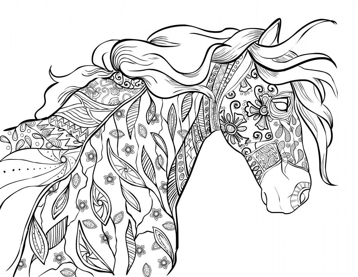 coloring pages of horses to print coloring pages for kids horse coloring pages of pages horses to coloring print