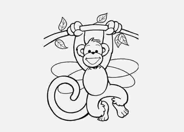 coloring pages of monkeys free printable monkey coloring pages for kids cool2bkids pages coloring monkeys of