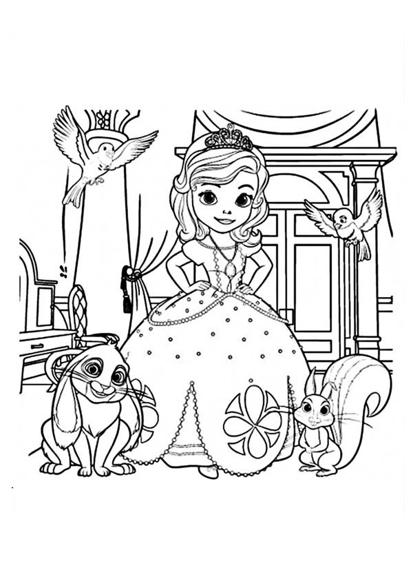 coloring pages of princess sofia free printable princess sofia coloring pages through the sofia princess of coloring pages