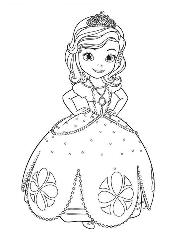 coloring pages of princess sofia princess sofia coloring page free printable coloring pages coloring of pages sofia princess