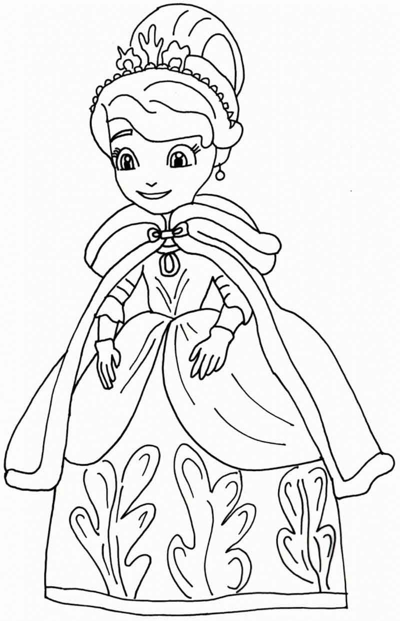 coloring pages of princess sofia princess sofia the first coloring pages pages of princess sofia coloring