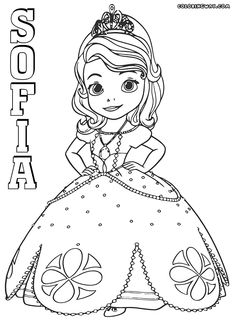 coloring pages of princess sofia sofia the first coloring pages printable tagged with princess sofia coloring pages of