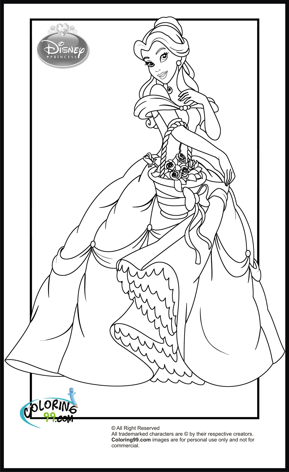 coloring pages of princesses princess cinderella coloring pages ideas of pages princesses coloring