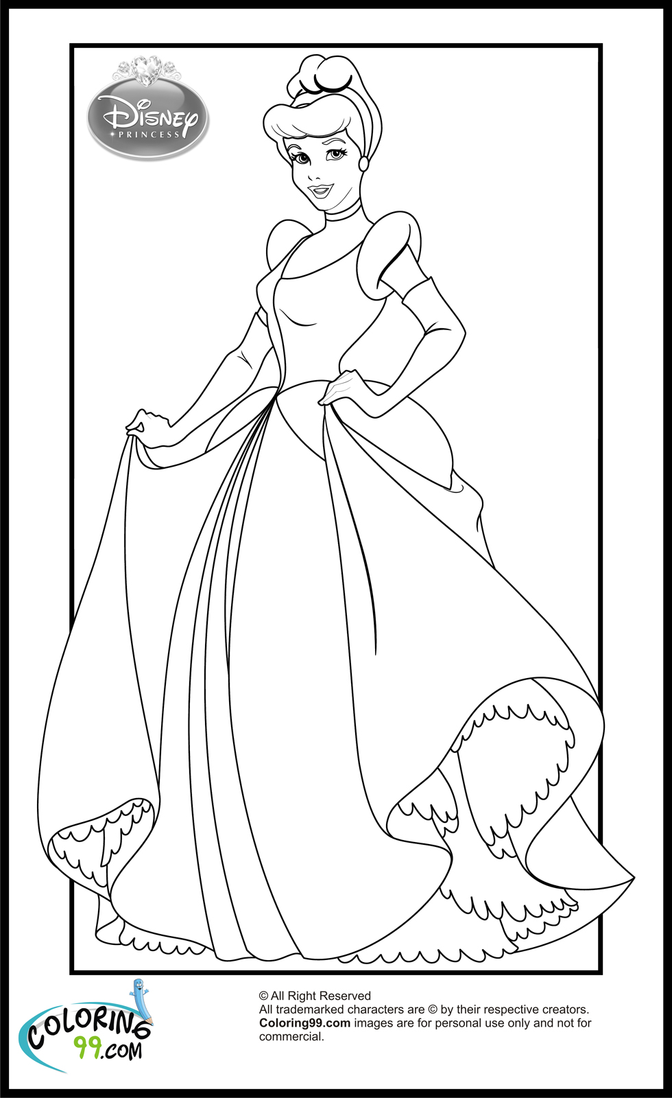 coloring pages of princesses printable coloring pages disney princess coloring pages of princesses coloring pages