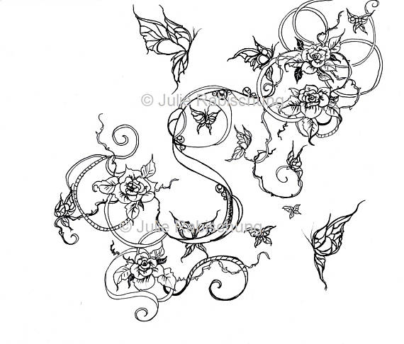 coloring pages of roses and butterflies roses and butterflies coloring page art nouveau coloring pages butterflies roses coloring of and