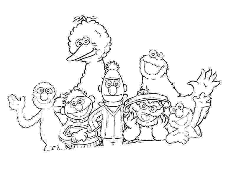 coloring pages of sesame street characters free printable sesame street coloring pages for kids of street characters coloring pages sesame