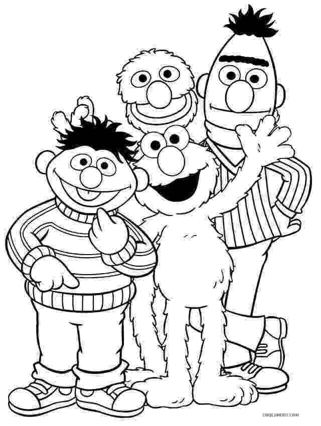coloring pages of sesame street characters free printable sesame street coloring pages for kids street characters pages sesame of coloring