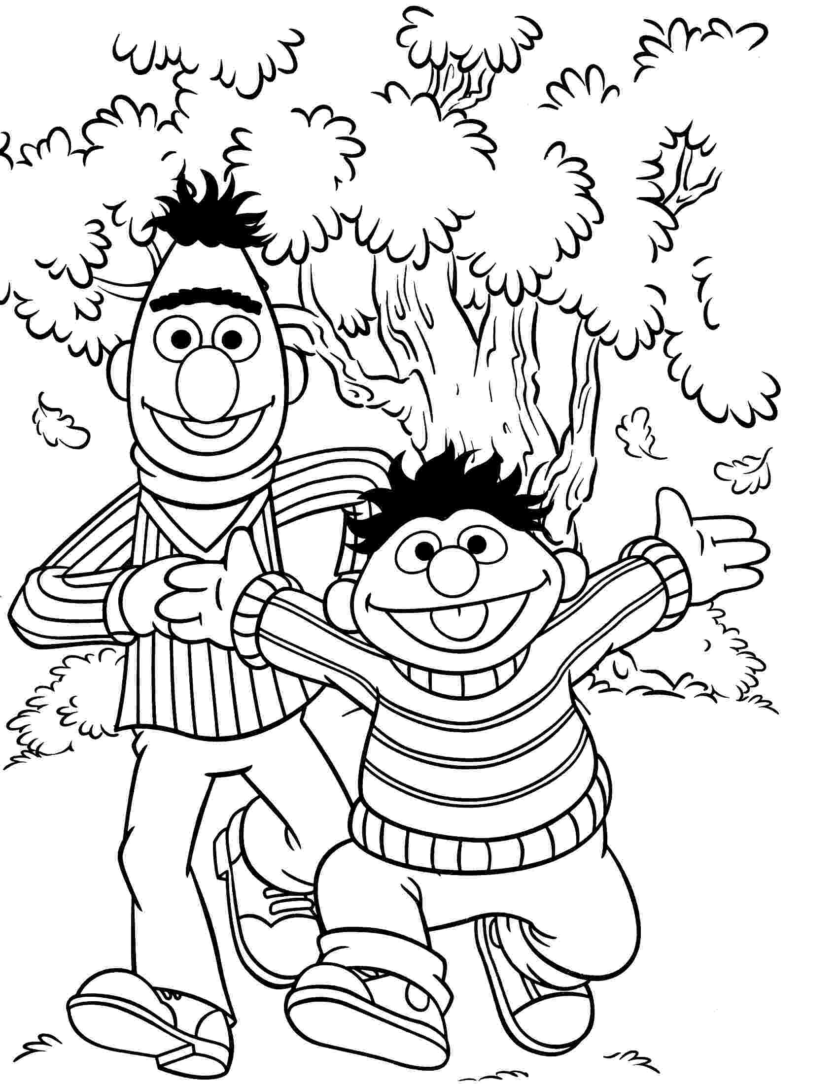 coloring pages of sesame street characters sesame street coloring pages getcoloringpagescom characters pages of coloring street sesame
