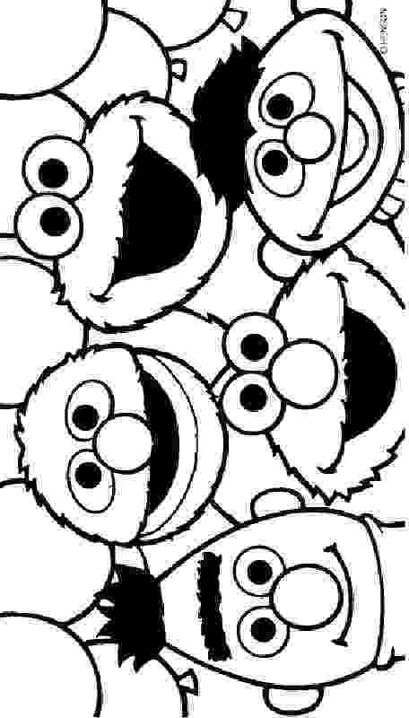 coloring pages of sesame street characters sesame street coloring pages to print printable coloring street coloring characters of sesame pages