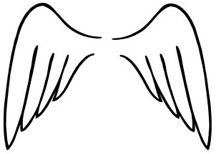 coloring pages of wings angel wing drawing at getdrawingscom free for personal of wings coloring pages