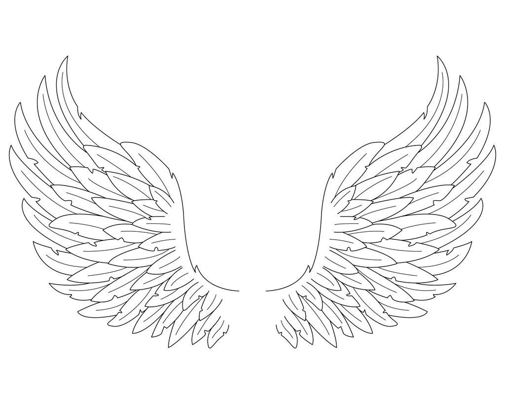 coloring pages of wings angel wings angel coloring page wecoloringpagecom wings of pages coloring