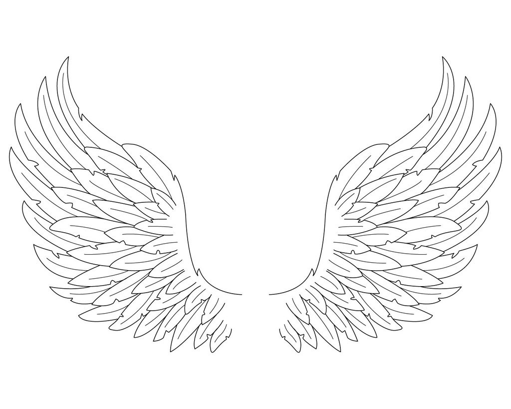 coloring pages of wings angel wings coloring page free printable coloring pages of wings coloring pages