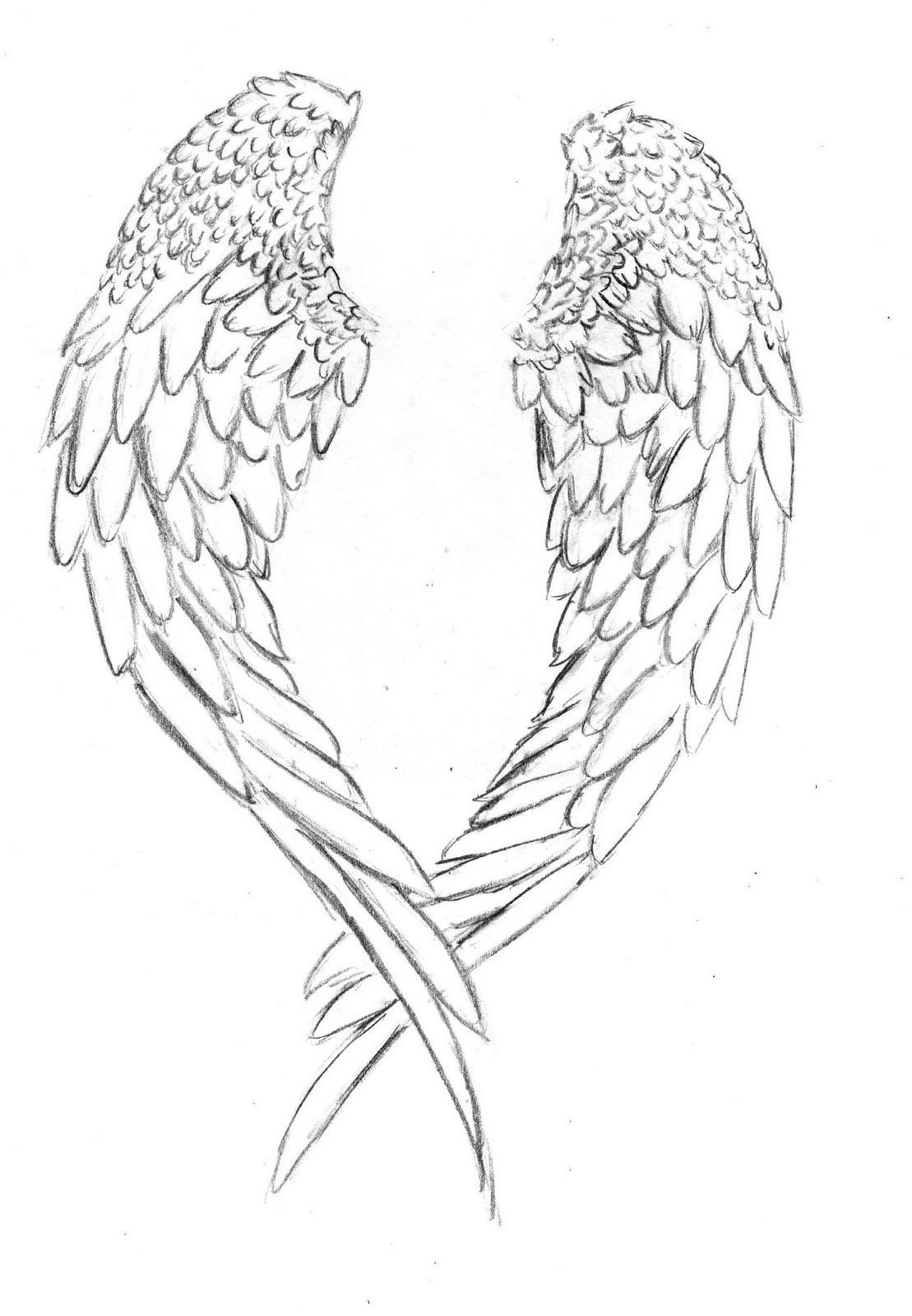 coloring pages of wings drawings of crosses with wings free download best coloring wings pages of