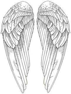 coloring pages of wings pin by meital on paintings pinterest of pages wings coloring