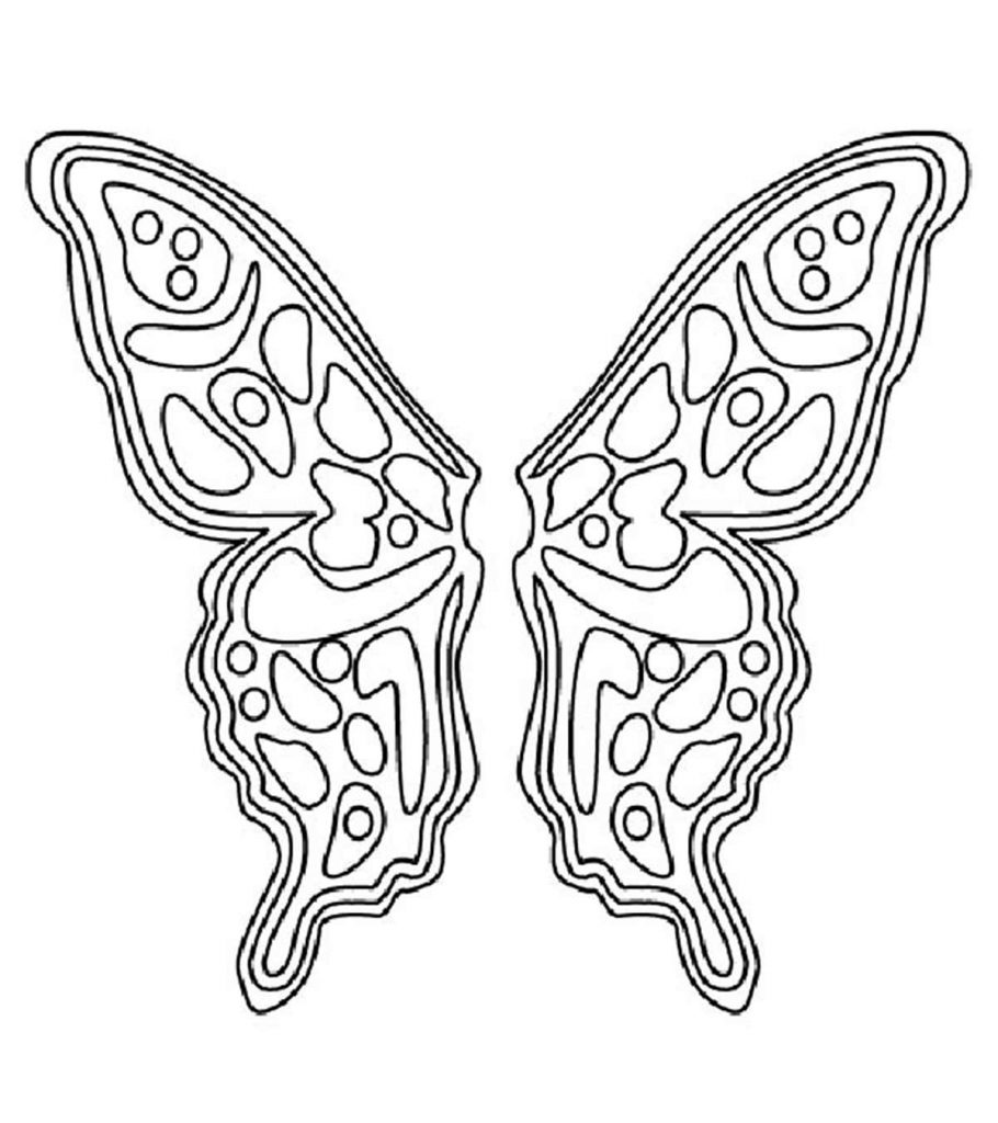 coloring pages of wings top 20 free printable pattern coloring pages online coloring pages of wings