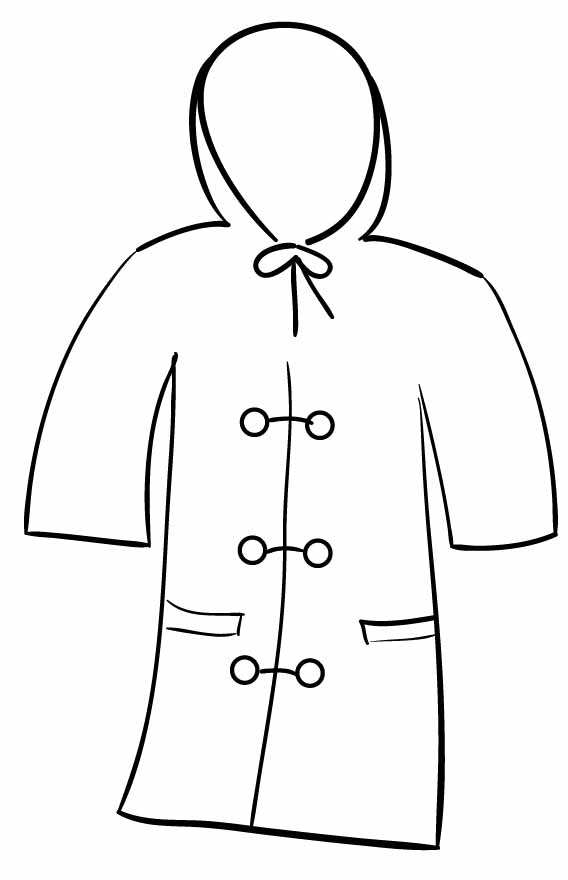 coloring pages of winter coats cowboy hat printable coloring page coloring point pages coats coloring winter of