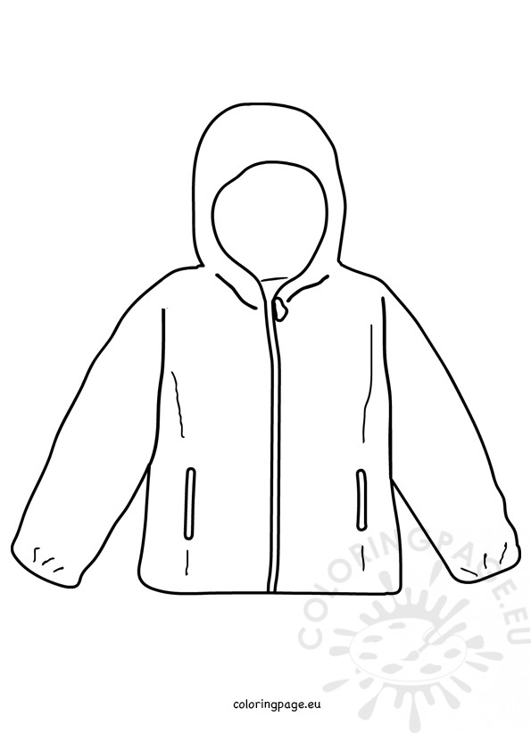 coloring pages of winter coats winter coat coloring page coloringcrewcom winter of pages coats coloring