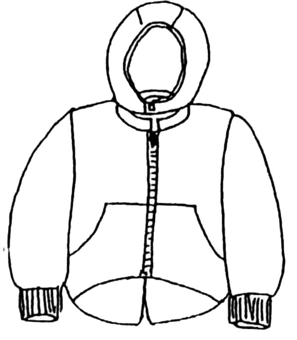 coloring pages of winter coats winter jacket drawing at getdrawingscom free for coloring pages coats winter of