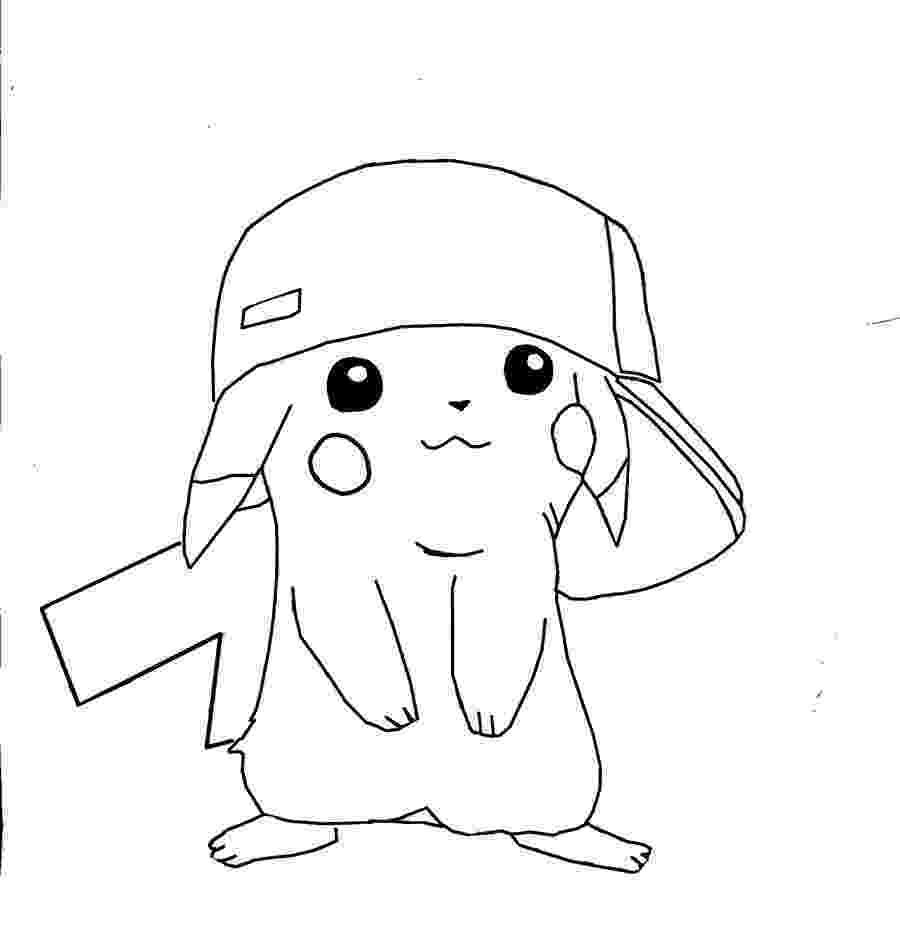 coloring pages pikachu pokemon pikachu and two friends are cute coloring page pikachu pages coloring