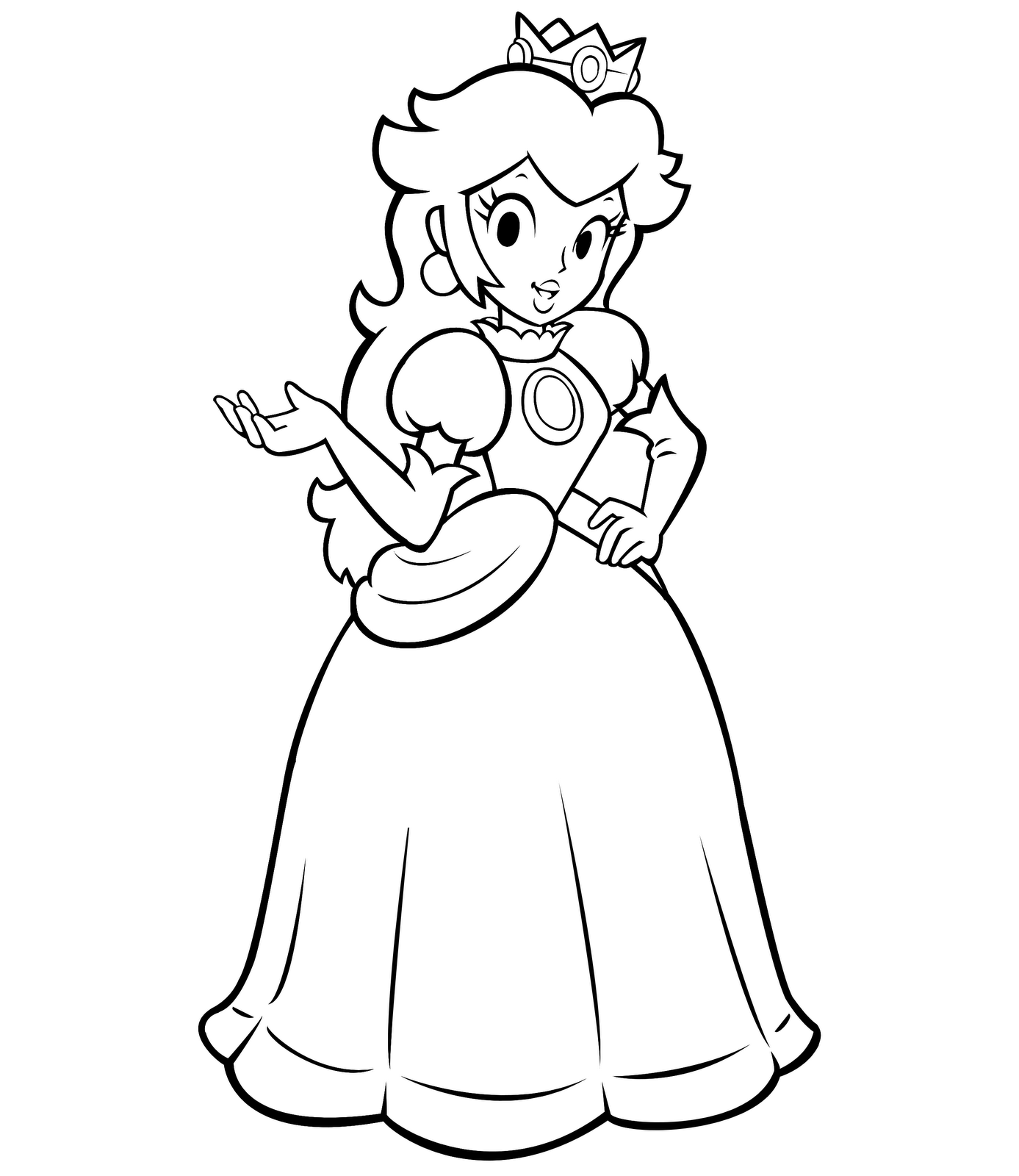 coloring pages princess peach coloring pages princess peach game peach princess pages coloring