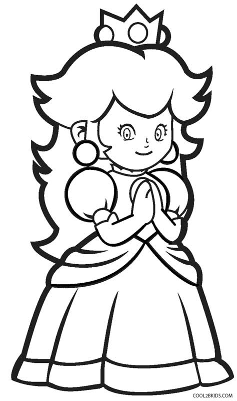 coloring pages princess peach princess peach coloring pages to download and print for free pages peach princess coloring