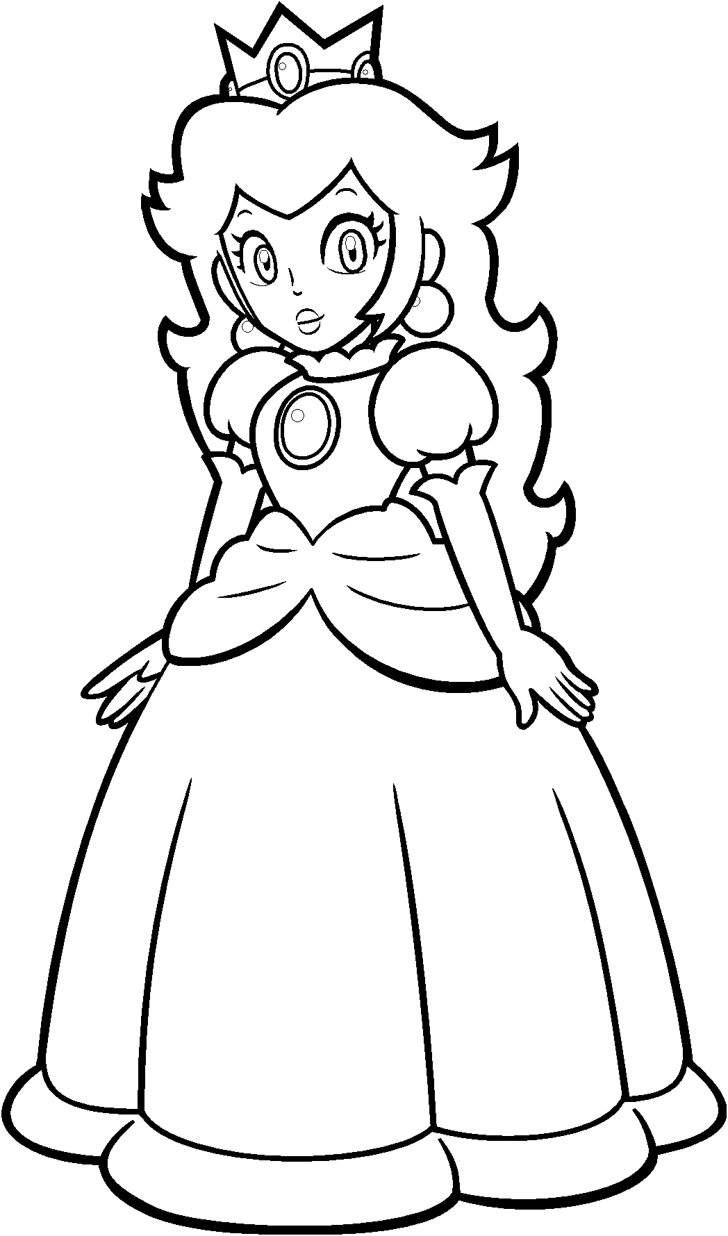 coloring pages princess peach printable princess peach coloring pages for kids cool2bkids coloring peach princess pages