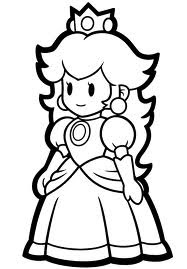 coloring pages princess peach printable princess peach coloring pages for kids cool2bkids pages coloring princess peach