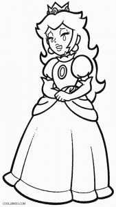 coloring pages princess peach printable princess peach coloring pages for kids cool2bkids pages princess coloring peach