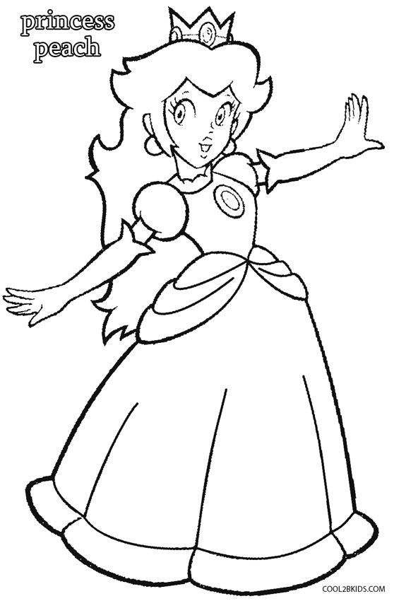 coloring pages princess peach video game coloring pages cool2bkids princess peach pages coloring