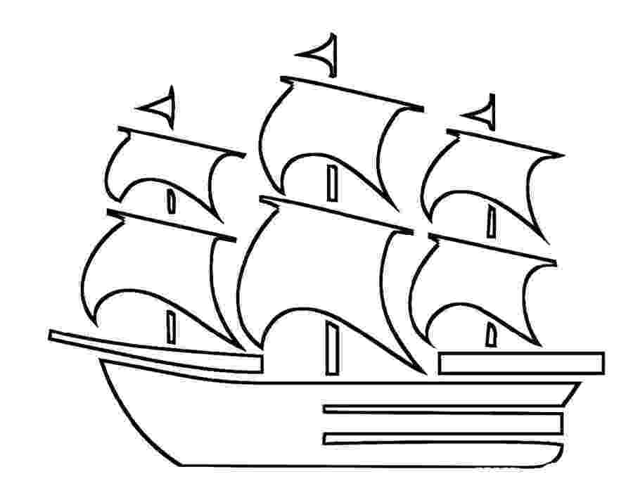 coloring pages ships mayflower drawing at getdrawingscom free for personal coloring pages ships