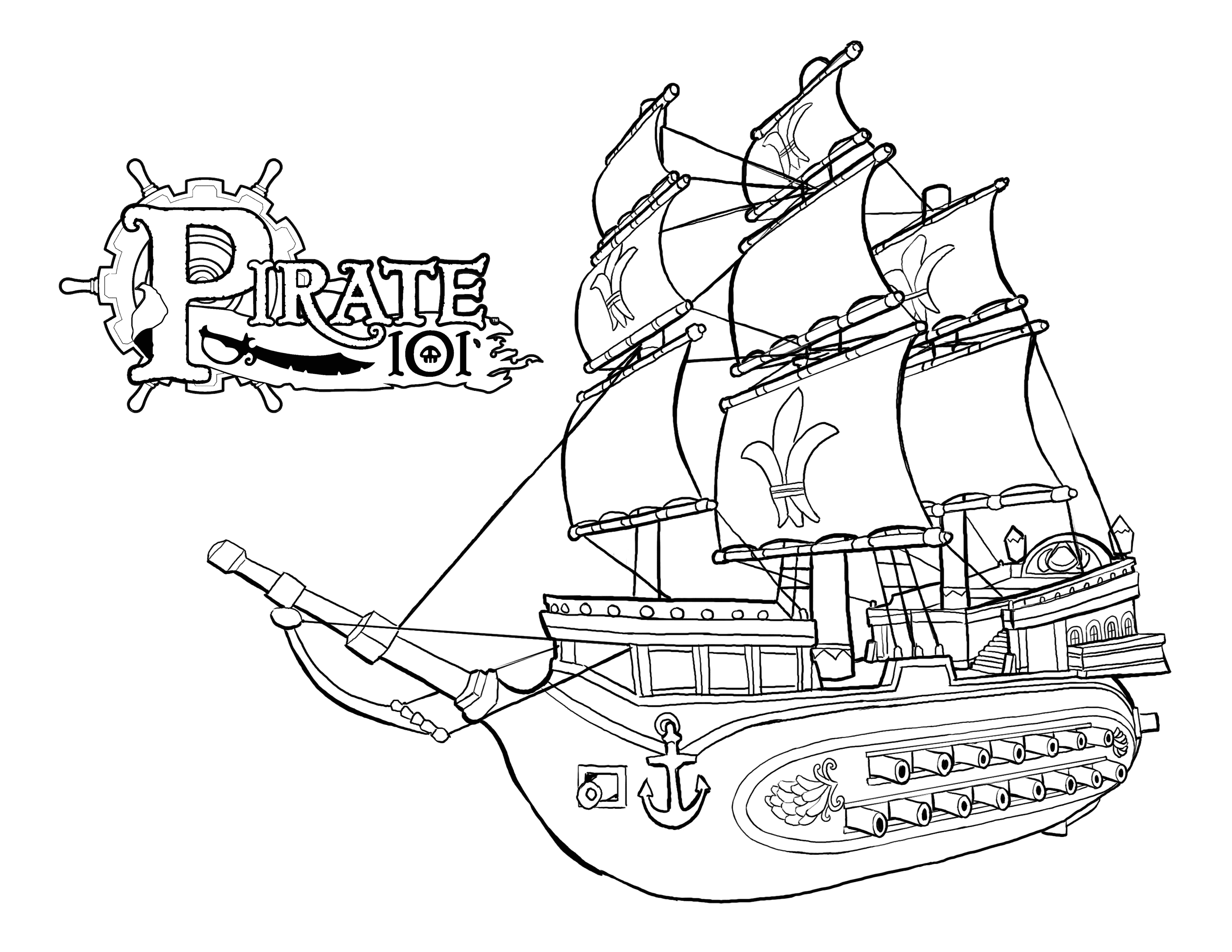 coloring pages ships sunken pirate ship coloring pages coloring pages coloring ships pages
