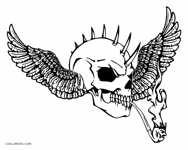 coloring pages skull printable skulls coloring pages for kids cool2bkids coloring pages skull 1 1