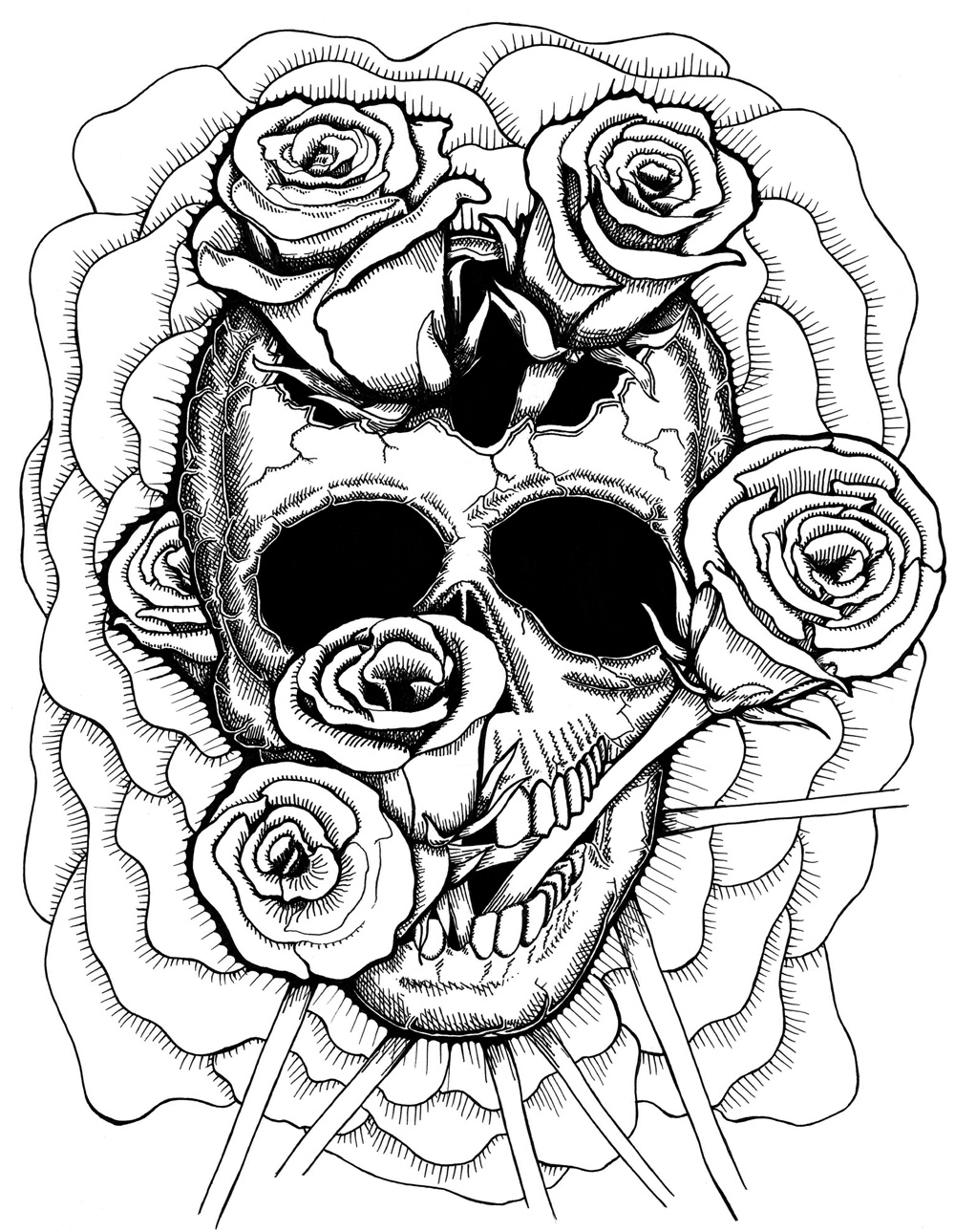 coloring pages skull yucca flats nm wenchkin39s coloring pages woman39s face pages skull coloring