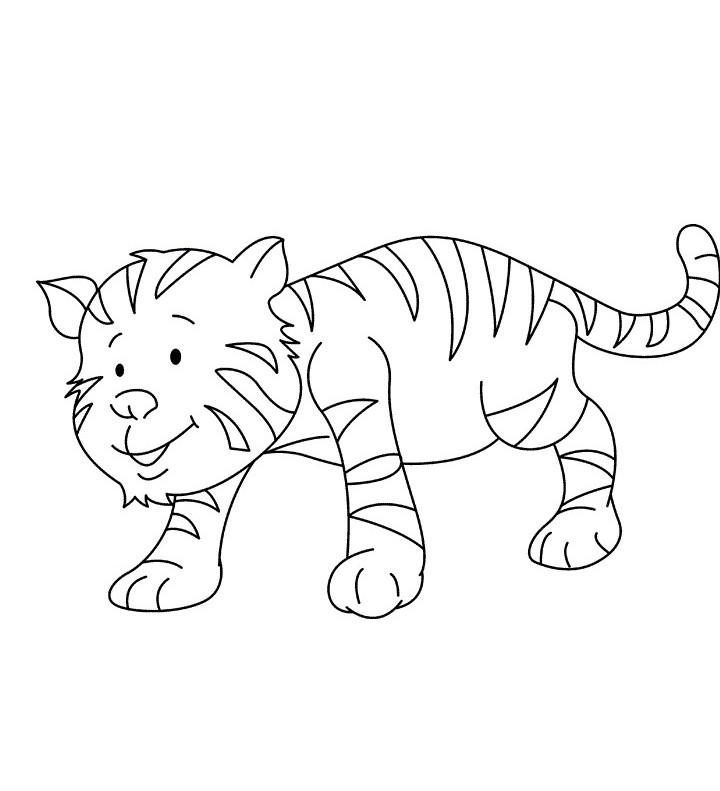 coloring pages tiger cubs cute cartoon tiger coloring pages sketch coloring page cubs pages tiger coloring