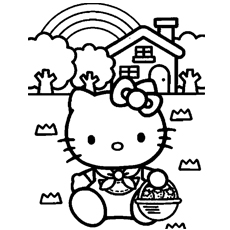 coloring pages to print of hello kitty free coloring pages for kids 201204 of hello print kitty to coloring pages