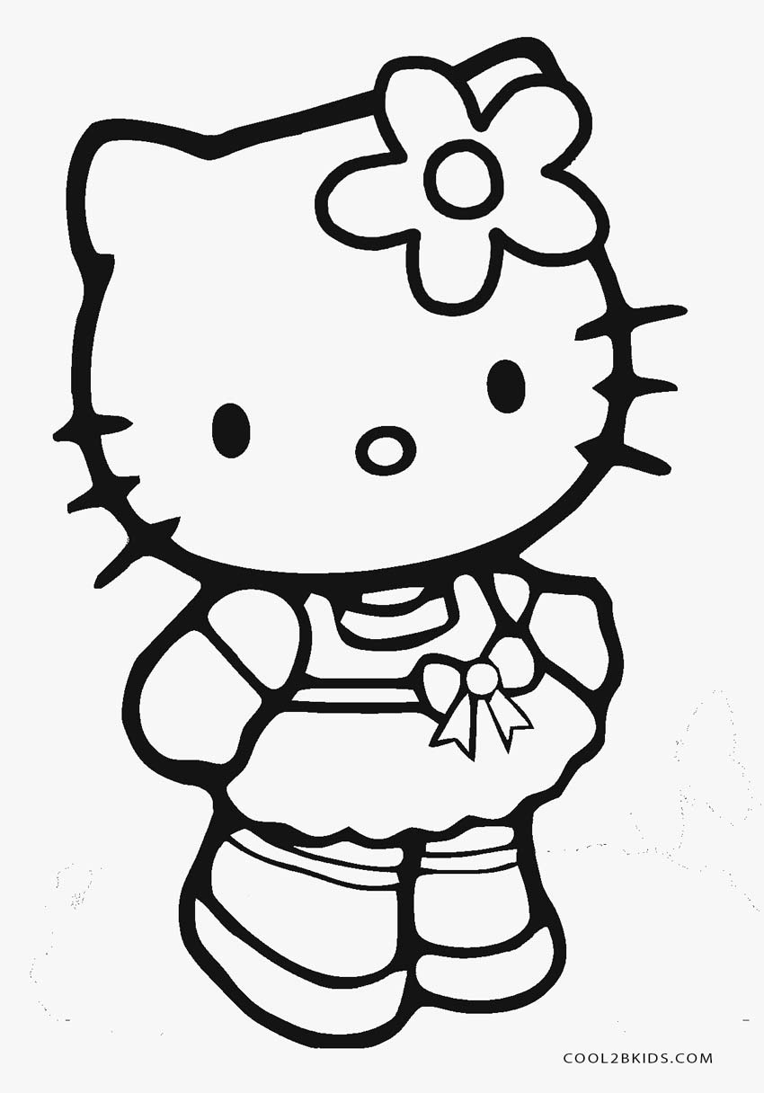 coloring pages to print of hello kitty free printable hello kitty coloring pages for pages of kitty to coloring pages hello print