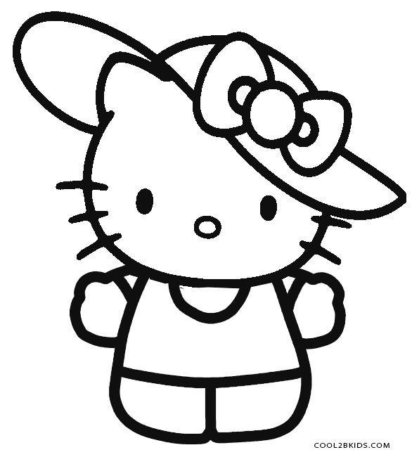 coloring pages to print of hello kitty free printable hello kitty coloring pages for pages to kitty pages print coloring hello of