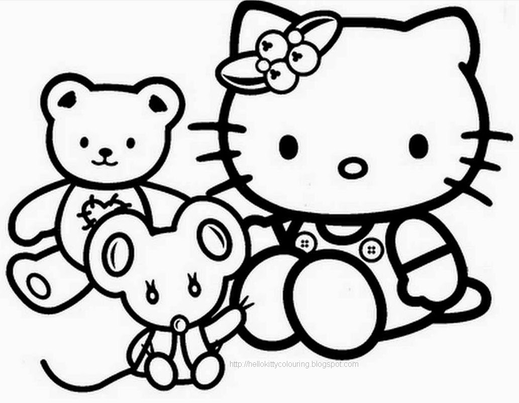 coloring pages to print of hello kitty hello kitty coloring pages 360coloringpages hello kitty of pages print to coloring