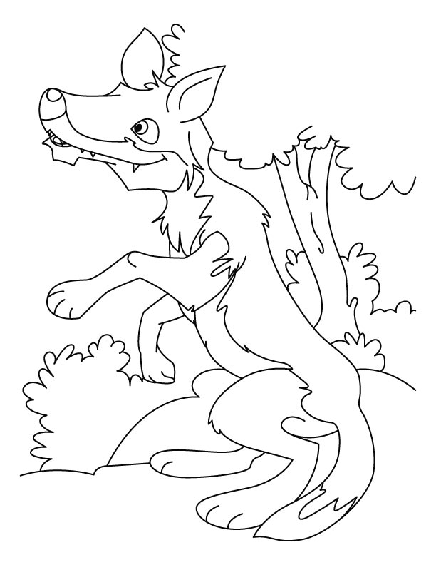 coloring pages wolf free printable wolf coloring pages for kids wolf coloring pages 1 1